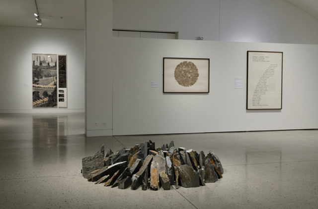 Landmarks: showing Richard Long and Christo
